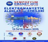 Elektromanyetik Alanlar ve Etkileri (EMANET 2015) Sempozyumu