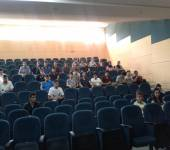 Department presentation for the newly entered students